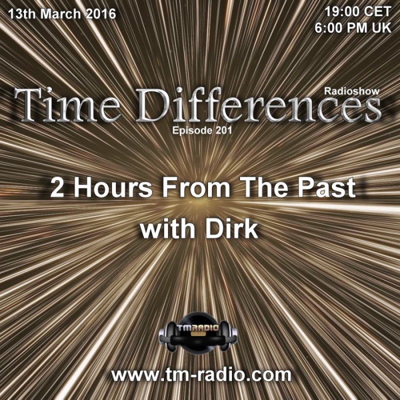 Time Differences :: Episode 201, hosted by Dirk (aired on March 13th, 2016) banner logo