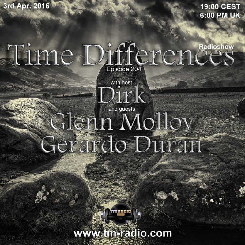 Time Differences :: Episode 204, hosted by Dirk (aired on April 3rd, 2016) banner logo