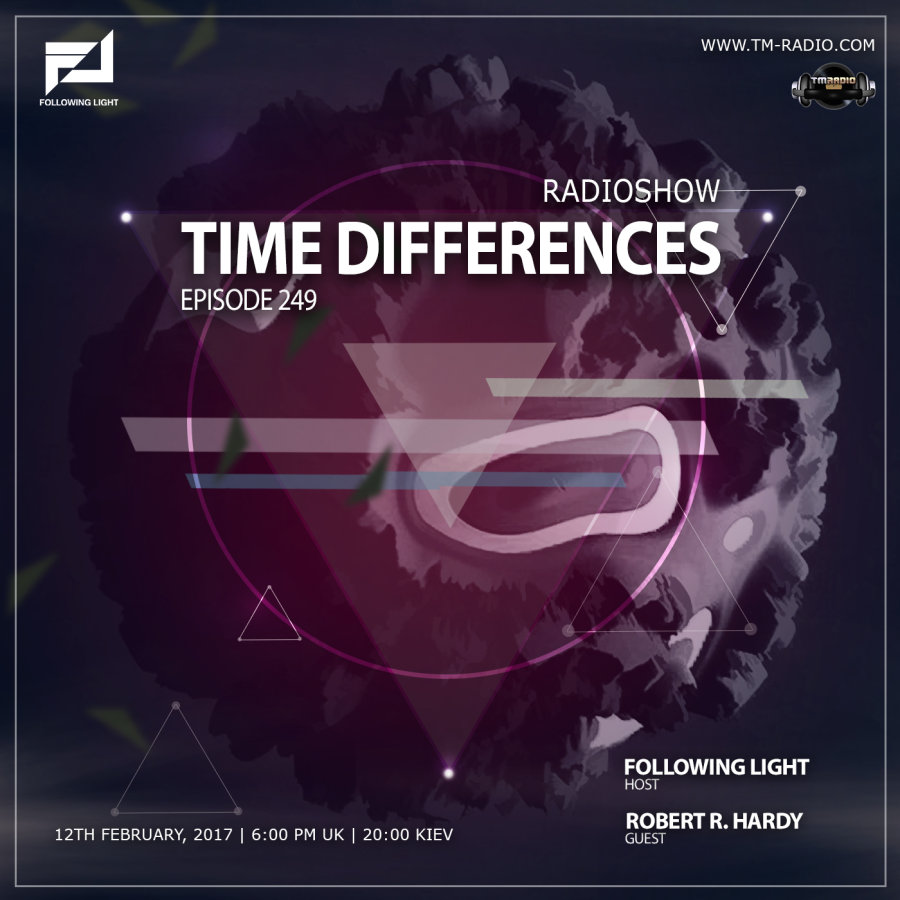 Time Differences :: Episode 249, hosted by Following Light (aired on February 12th, 2017) banner logo