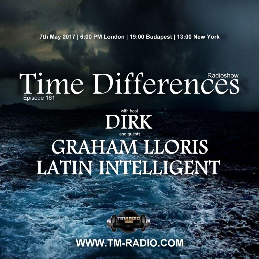 Time Differences :: Episode 261, hosted by Dirk (aired on May 7th, 2017) banner logo