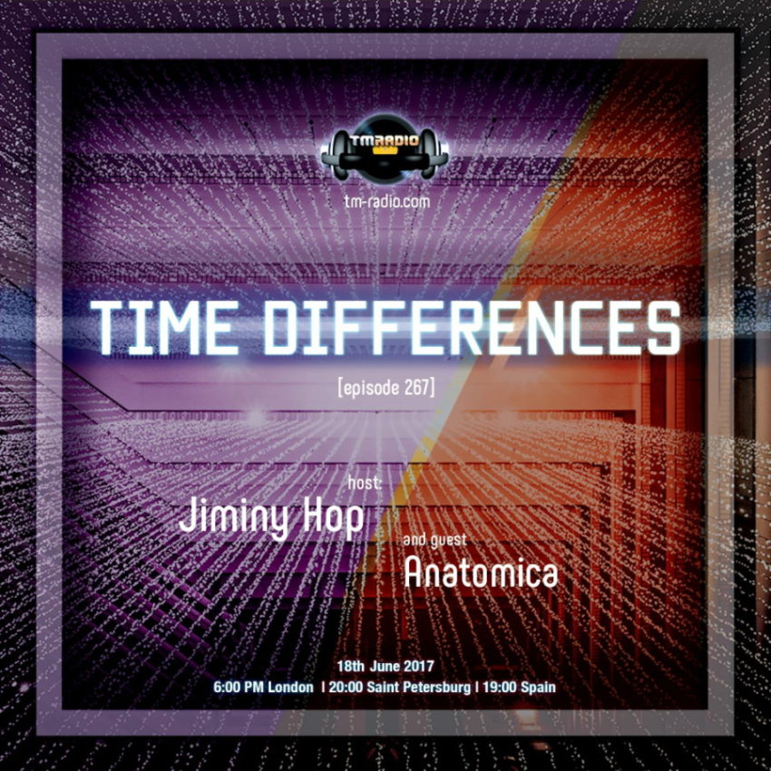 Time Differences :: Episode 267, hosted by Jiminy Hop (aired on June 18th, 2017) banner logo
