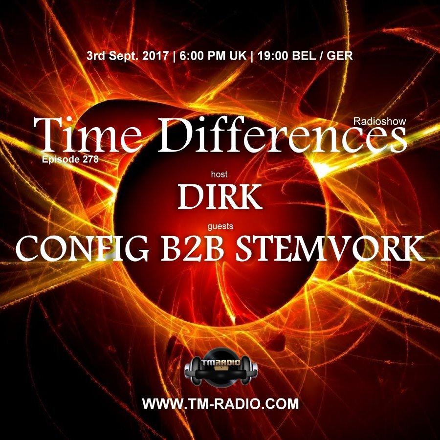 Time Differences :: Episode 278, hosted by Dirk (aired on September 3rd, 2017) banner logo