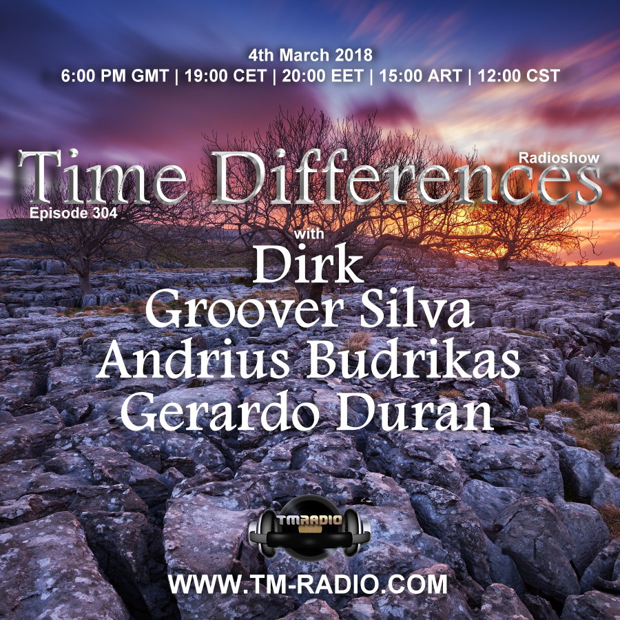 Episode 304, with guests Andrius Budrikas, Groover Silva, Gerardo Duran & host Dirk (from March 4th)