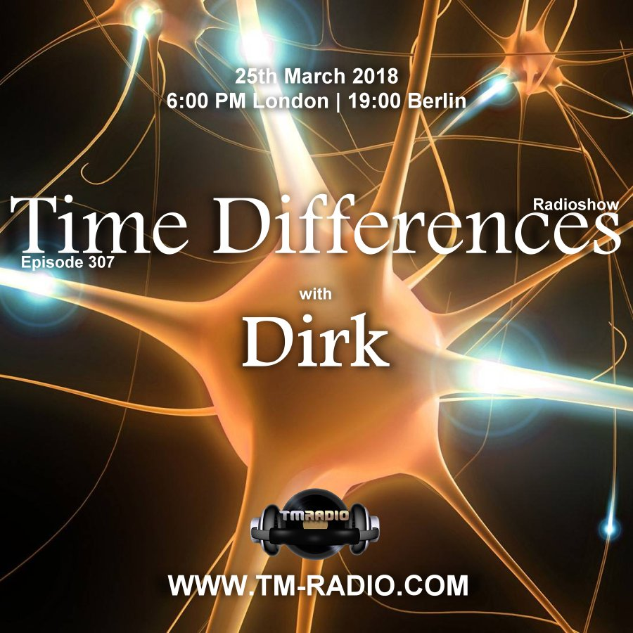Time Differences :: Episode 307, with Dirk (aired on March 25th, 2018) banner logo