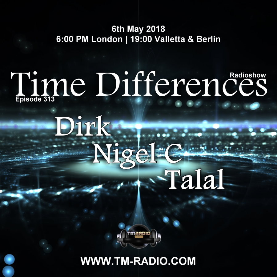 Episode 313, with guests Nigel C, Talal and host Dirk (from May 6th, 2018)