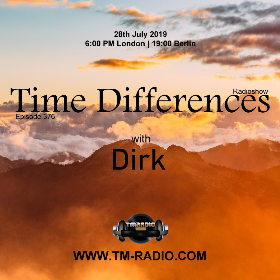 Time Differences :: Episode 376, with host Dirk (aired on July 28th) banner logo