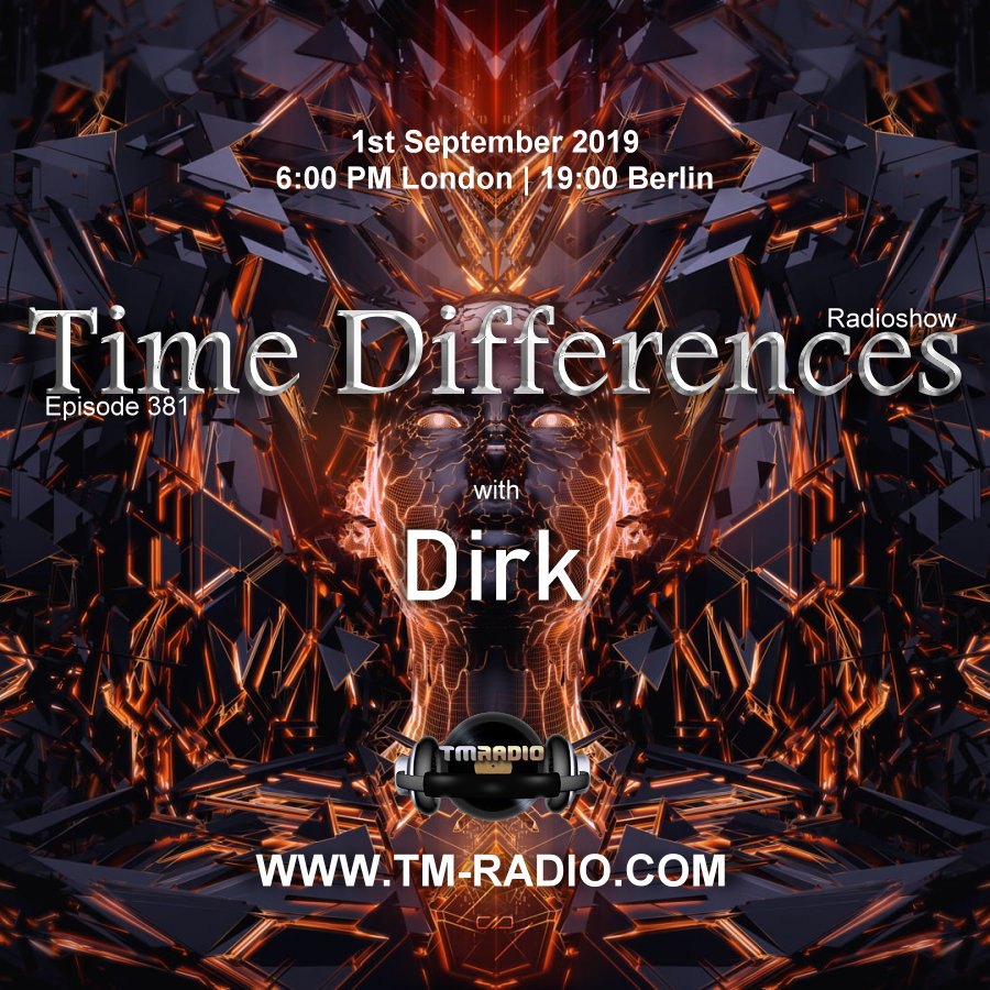Time Differences :: Episode 381, with host Dirk (aired on September 1st, 2019) banner logo