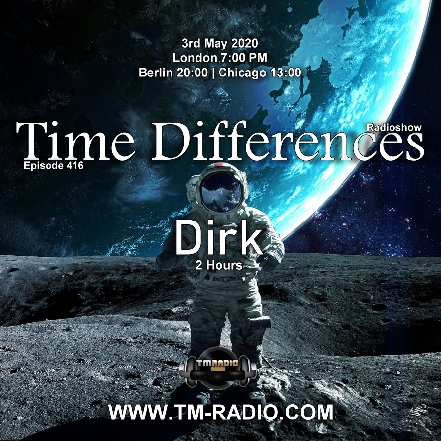 Time Differences :: Episode 416, two hours with Dirk (aired on May 3rd) banner logo