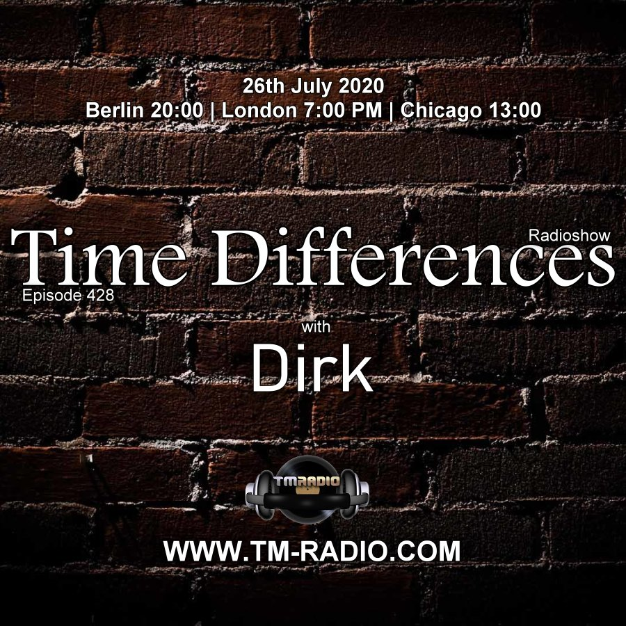 Time Differences :: Episode 428, with host Dirk (aired on July 26th, 2020) banner logo