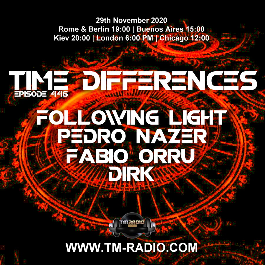 Time Differences :: Episode 446, with all hosts (aired on November 29th, 2020) banner logo