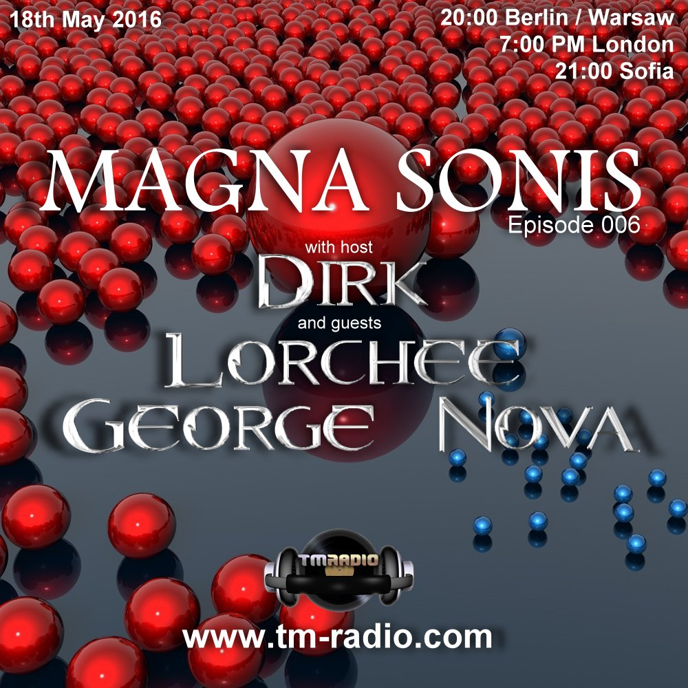 Magna Sonis :: Episode 006, hosted by Dirk (aired on May 18th, 2016) banner logo