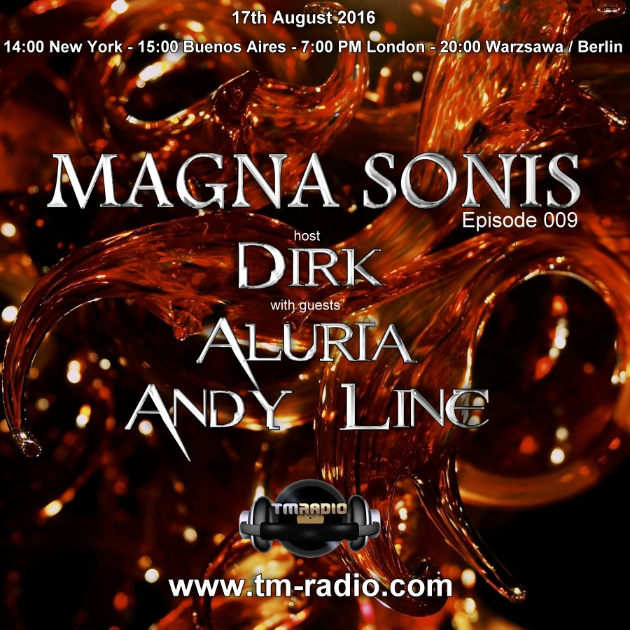 Magna Sonis :: Episode 009, hosted by Dirk (aired on August 17th, 2016) banner logo