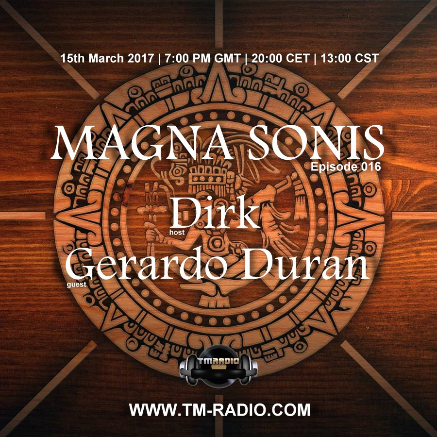 Magna Sonis :: Episode 016, hosted by Dirk (aired on March 15th, 2017) banner logo