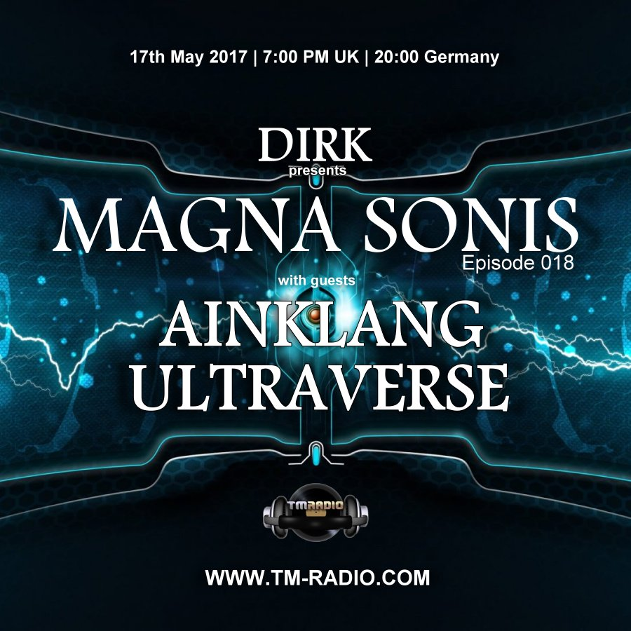 Magna Sonis :: Episode 018, hosted by Dirk (aired on May 17th, 2017) banner logo
