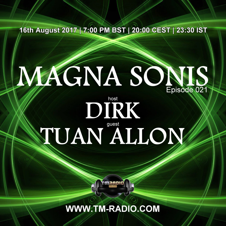 Magna Sonis :: Episode 021, hosted by Dirk (aired on August 16th, 2017) banner logo