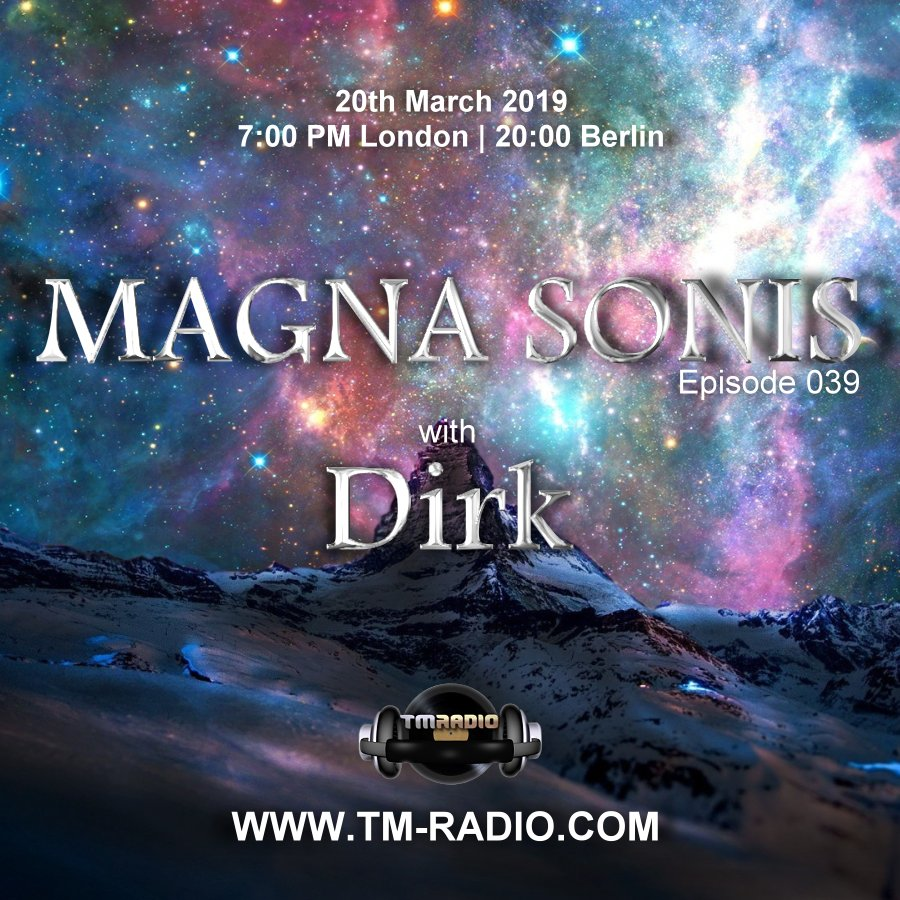 Magna Sonis :: Episode 039, with Dirk (aired on March 20th, 2019) banner logo