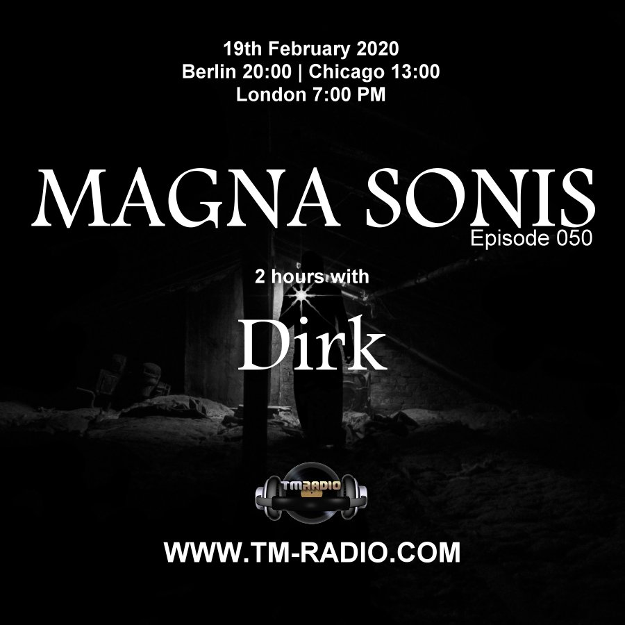 Magna Sonis :: Episode 050, 2 hours with host Dirk (aired on February 19th, 2020) banner logo