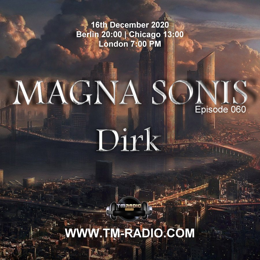 Magna Sonis :: Episode 060, two sets by host Dirk (aired on December 16th, 2020) banner logo