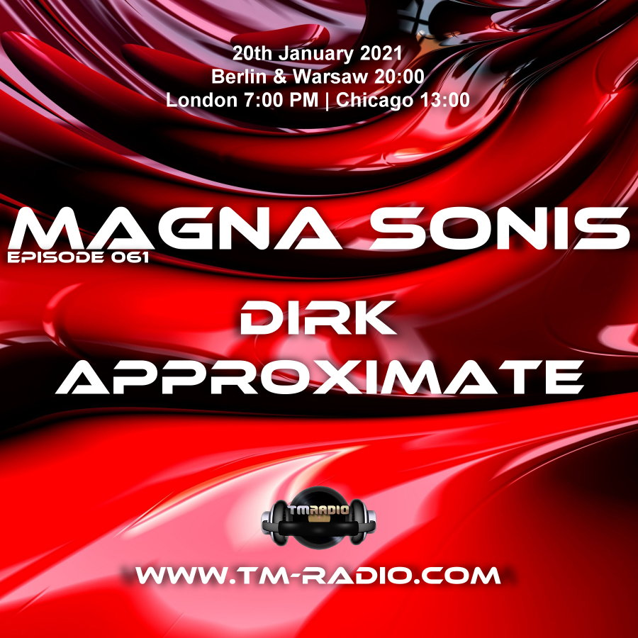 Magna Sonis :: Episode 061, with guest Approximate and host Dirk (aired on January 20th) banner logo