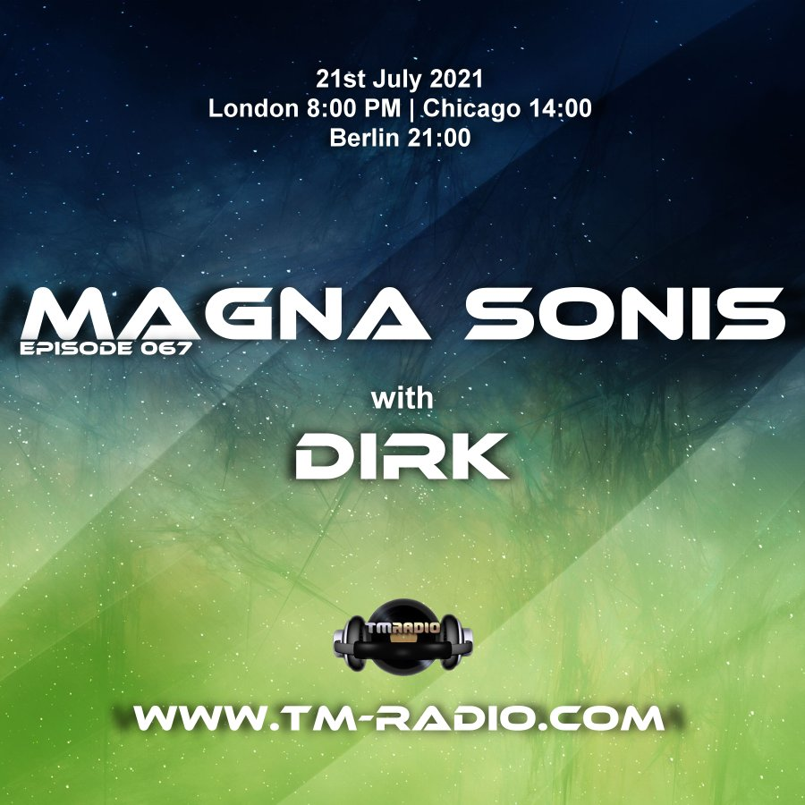 Magna Sonis :: Episode 067, with host Dirk (aired on July 21st) banner logo