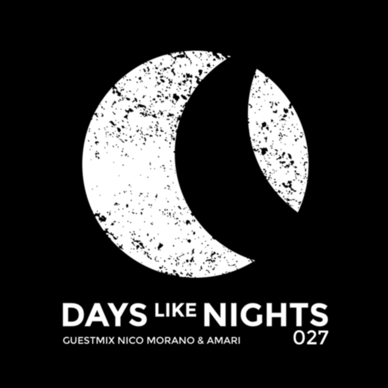 Days Like Nights :: Episode 027, guest NICO MORANO & AMARI (aired on May 14th, 2018) banner logo