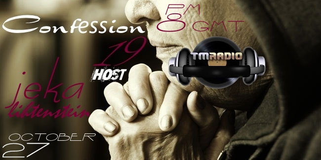 Confession :: Episode 019 (aired on October 27th, 2017) banner logo