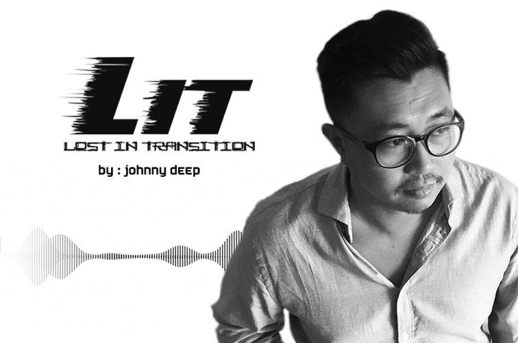 Lost in Transition :: Grand Opening on TM Radio (aired on December 31st, 2019) banner logo