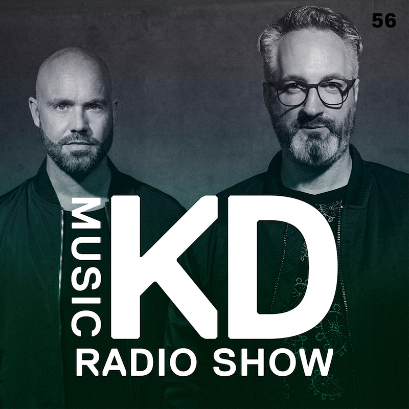 KD Music Radio Show :: Episode 056, live at WOMB, Tokyo, Japan (aired on January 3rd, 2018) banner logo