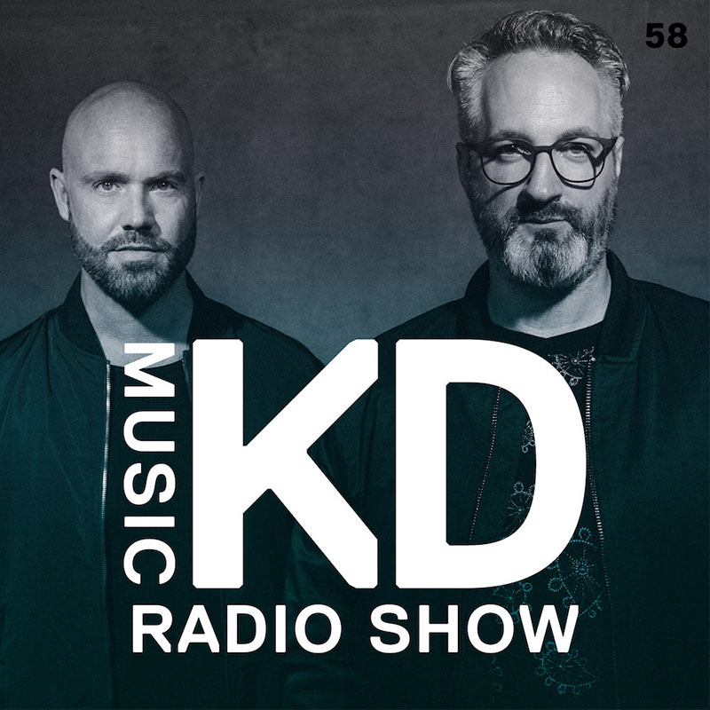 KD Music Radio Show :: Episode 058, Winter Studio Mix (aired on March 7th, 2018) banner logo