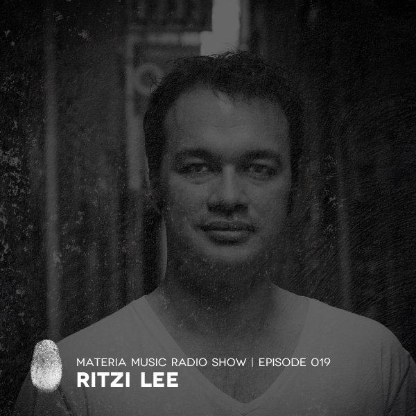 Materia Music Radio Show :: Episode 019, guest Ritzi Lee (aired on November 11th, 2017) banner logo