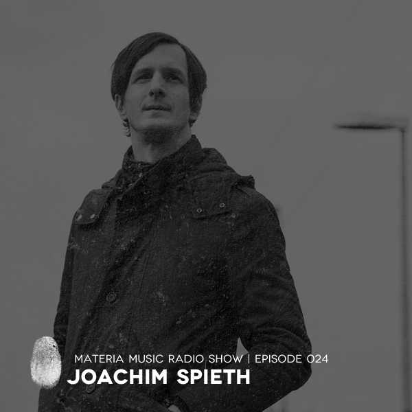 Materia Music Radio Show :: Episode 025, with Joachim Spieth (aired on February 3rd, 2018) banner logo