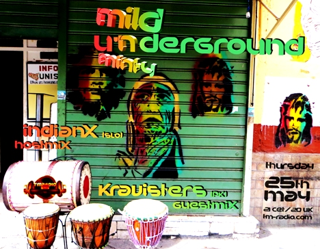 Mild 'N Minty :: UNDERGROU'ND (aired on May 25th, 2017) banner logo