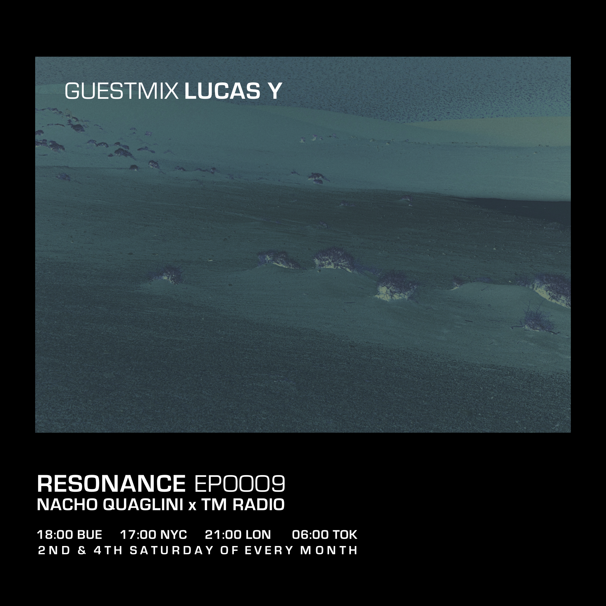 Resonance :: Resonance / Ep. 0009 / December 2020 / Guestmix: Lucas Y (aired on December 26th, 2020) banner logo