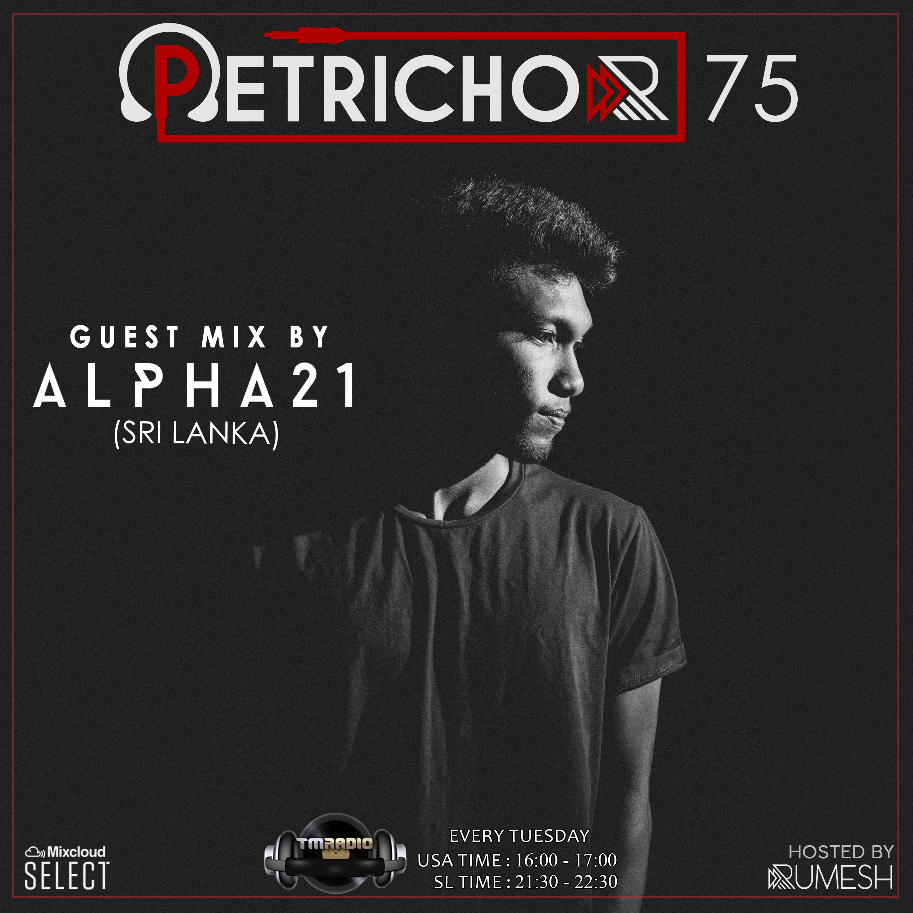 Petrichor :: Petrichor 75 Guest Mix by ALPHA21 -(Sri Lanka) (aired on April 14th, 2020) banner logo