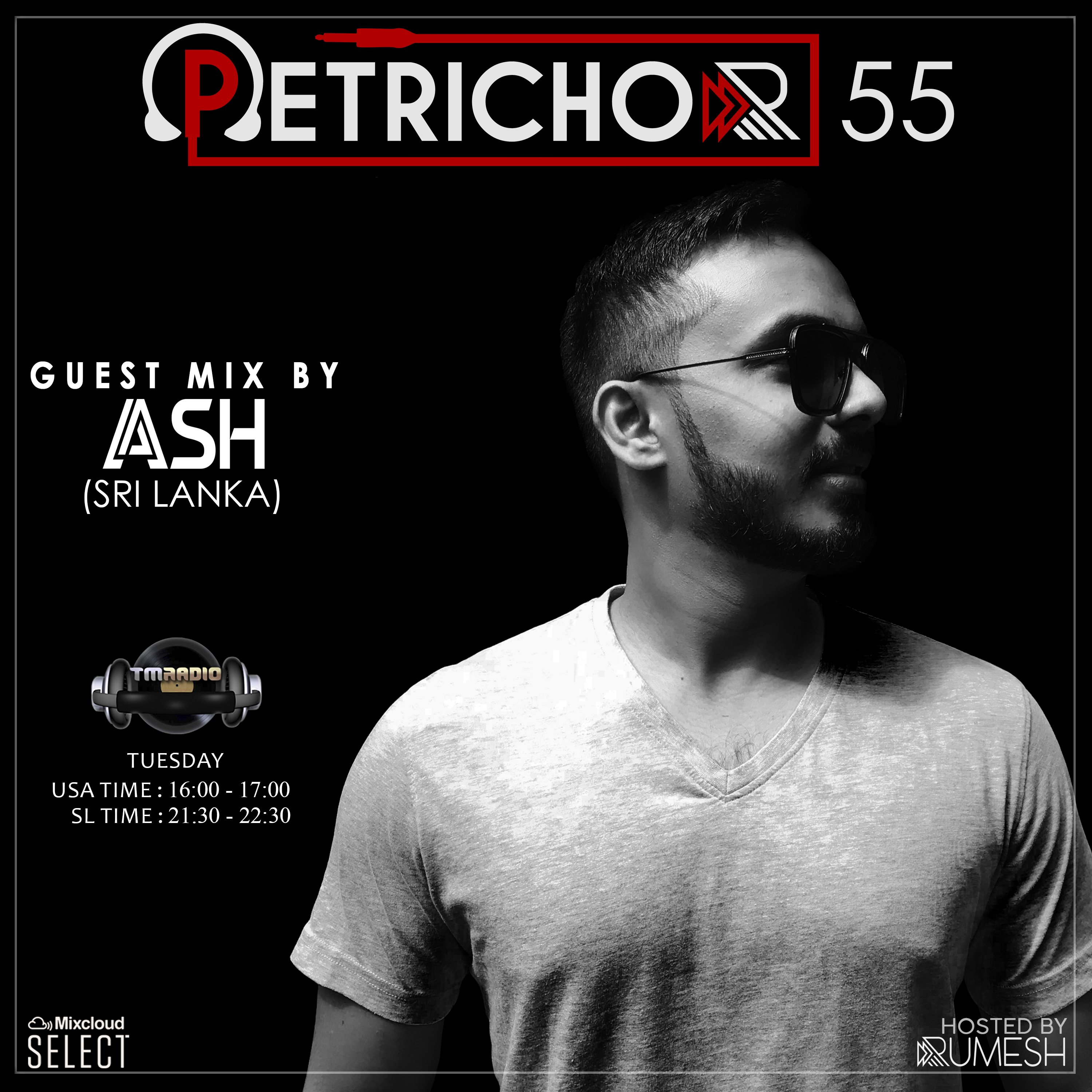 Petrichor 55 guest mix by ASH (Sri Lanka) (from November 26th, 2019)