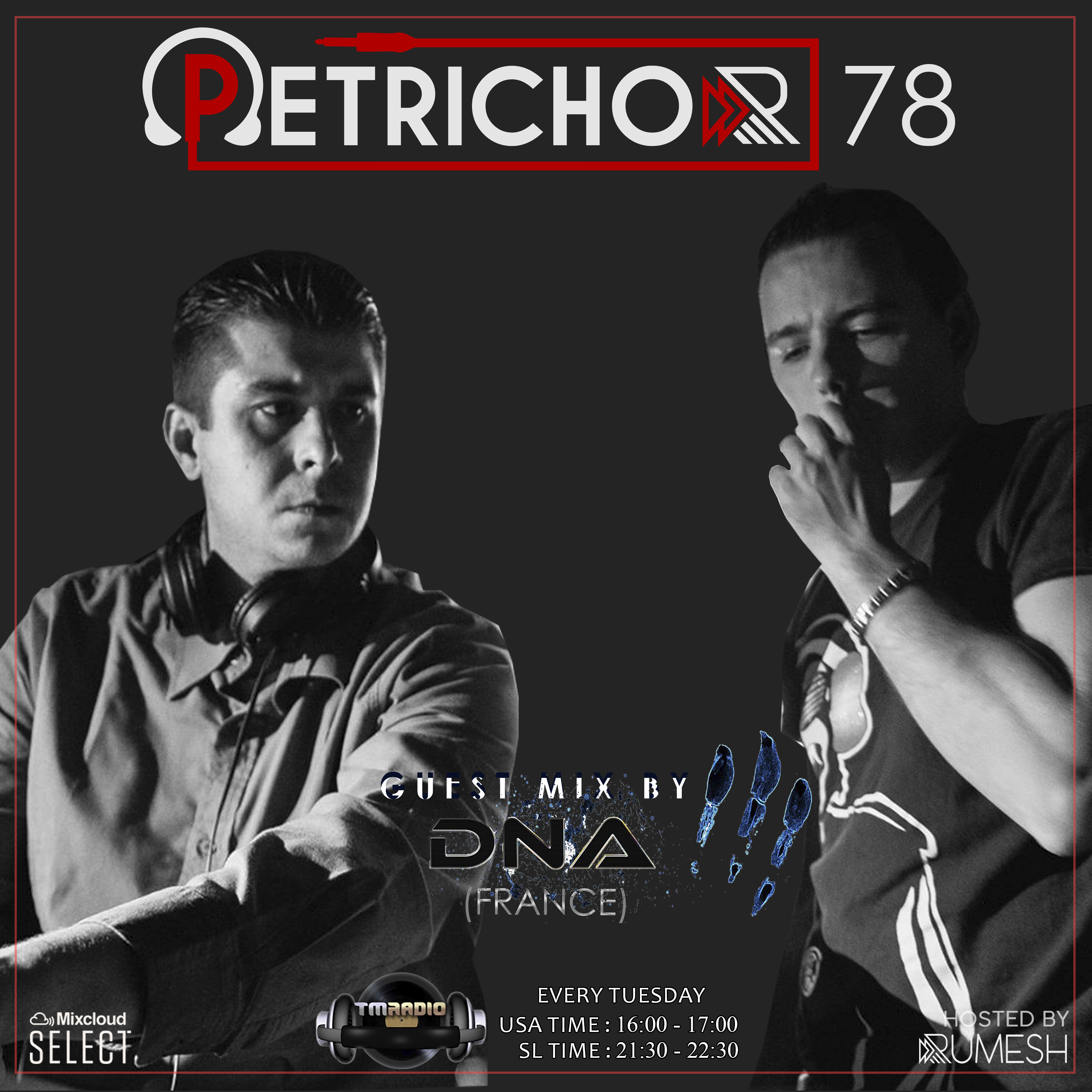 Petrichor :: Petrichor 78 Guest Mix by DNA (France) (aired on May 5th, 2020) banner logo