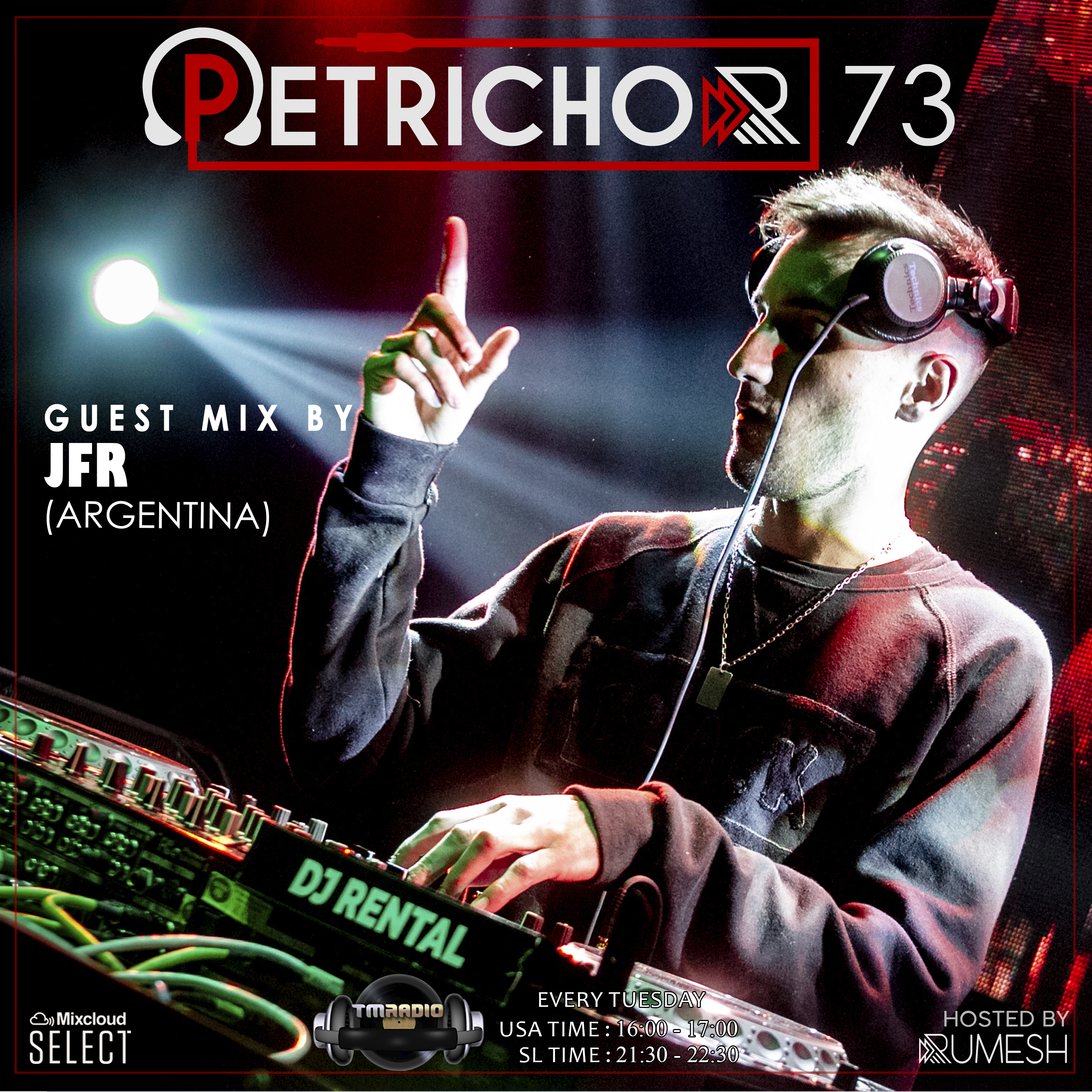 Petrichor :: Petrichor 73 Guest Mix by JFR -(Argentina) (aired on March 31st, 2020) banner logo
