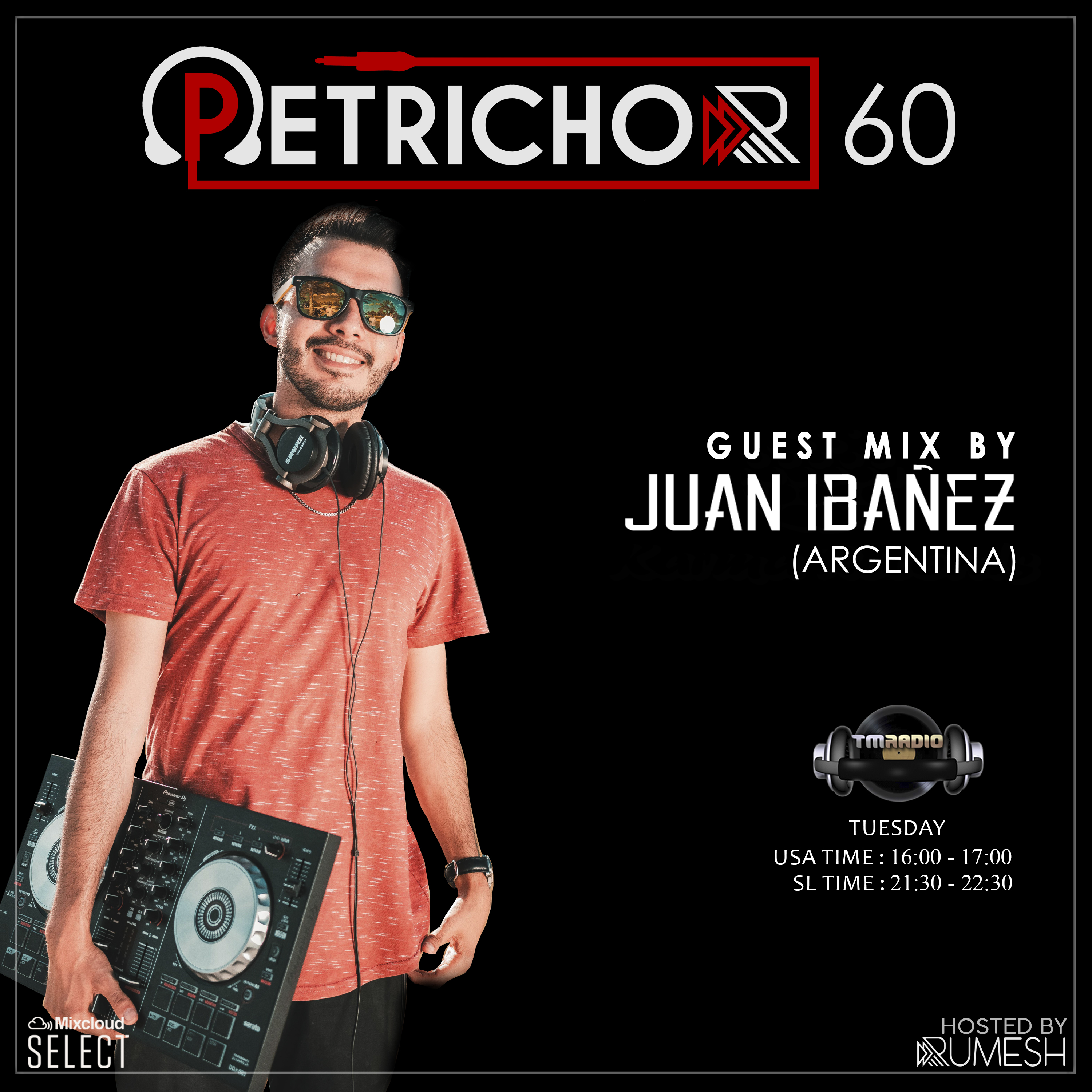 Petrichor :: Petrichor 60 guest mix by Juan ibanez (Argentina) (aired on December 31st, 2019) banner logo