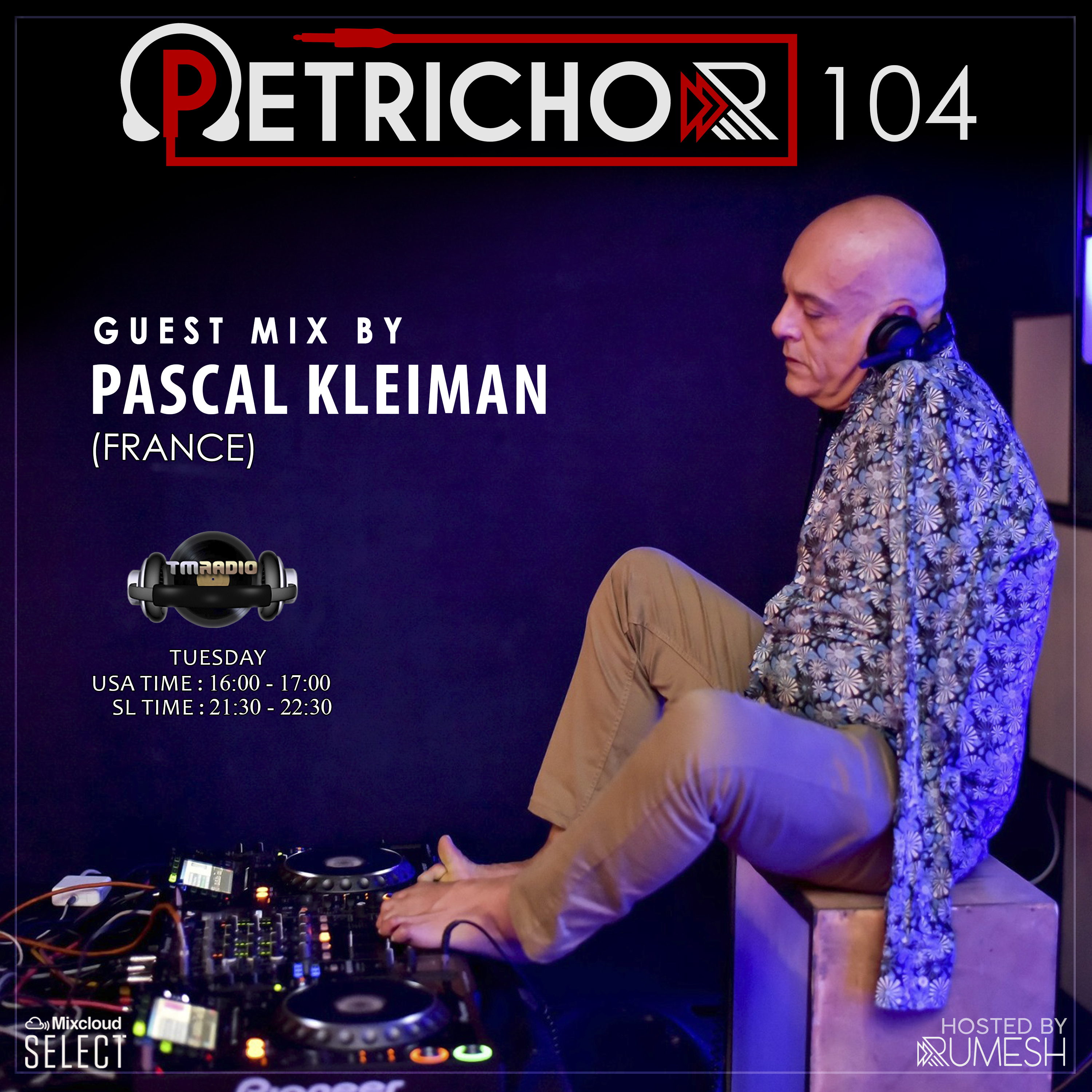 Petrichor :: Petrichor 104 Guest Mix by Pascal Kleiman -(France) (aired on May 18th) banner logo