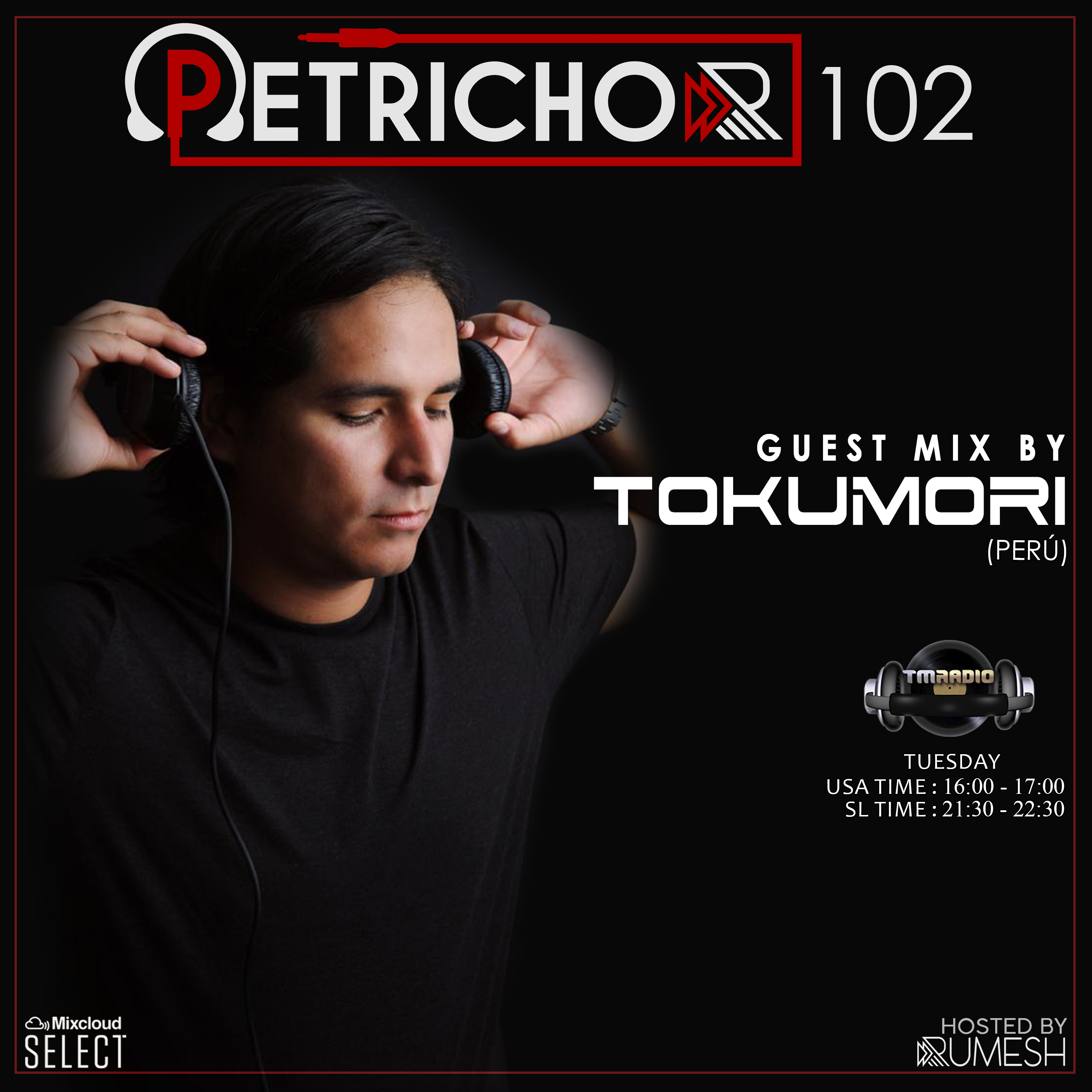 Petrichor :: Petrichor 102 Guest Mix by Tokumori -(Peru) (aired on April 6th) banner logo