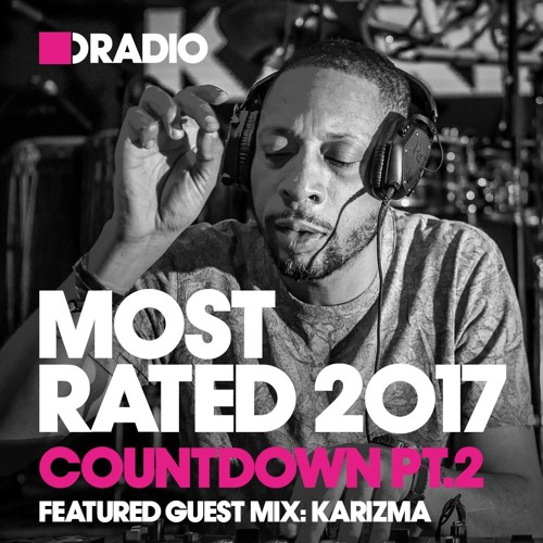 Defected Radio :: Most Rated 2017 countdown part 2, guest mix Karizma (aired on December 17th, 2017) banner logo