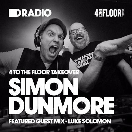 Defected Radio :: 4 To The Floor Takeover, guest Luke Solomon (aired on November 5th, 2017) banner logo
