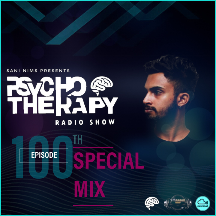 Psycho Therapy :: PSYCHO THERAPY EP 100 SPECIAL MIX BY SANI NIMS ON TM RADIO (aired on August 19th, 2020) banner logo