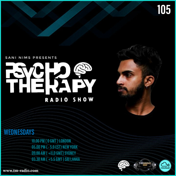 Psycho Therapy :: PSYCHO THERAPY EP 105 BY SANI NIMS ON TM RADIO (aired on September 23rd, 2020) banner logo