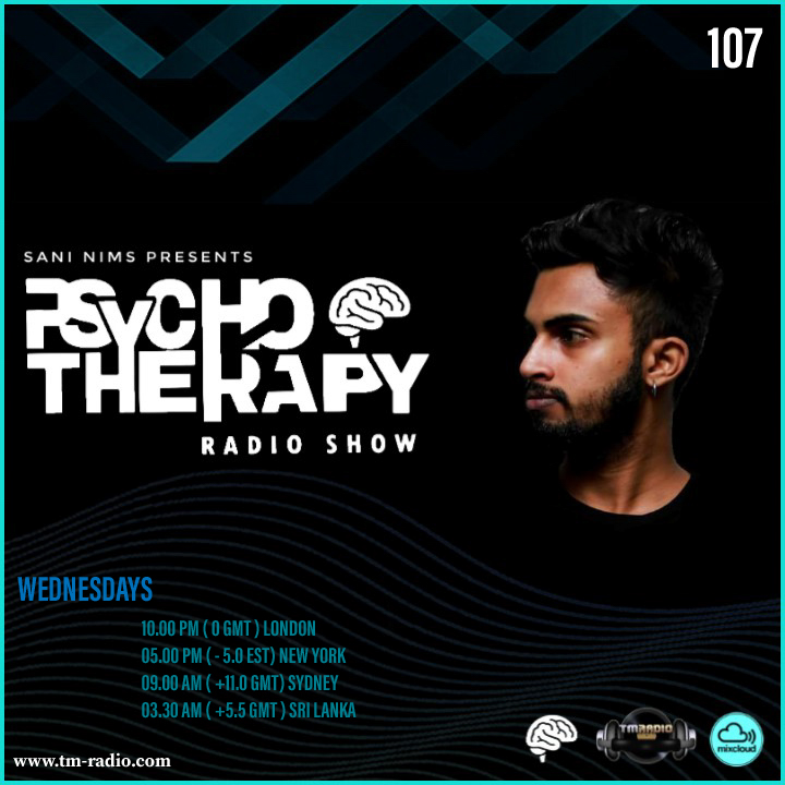 Psycho Therapy :: PSYCHO THERAPY EP 107  BY SANI NIMS ON TM RADIO (aired on October 7th, 2020) banner logo
