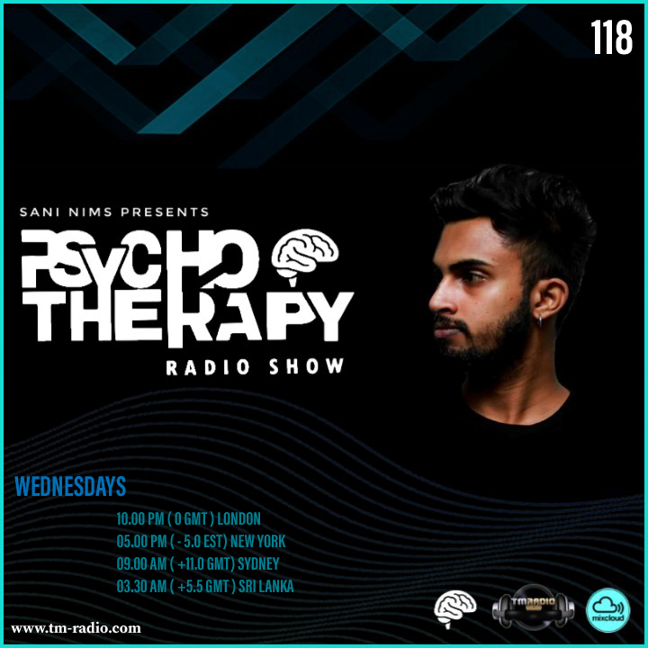 Psycho Therapy :: PSYCHO THERAPY EP 118 BY SANI NIMS ON TM RADIO (aired on December 23rd, 2020) banner logo