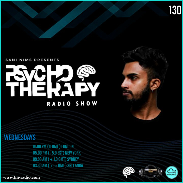Psycho Therapy :: PSYCHO THERAPY EP 130 BY SANI NIMS ON TM RADIO (aired on March 17th) banner logo