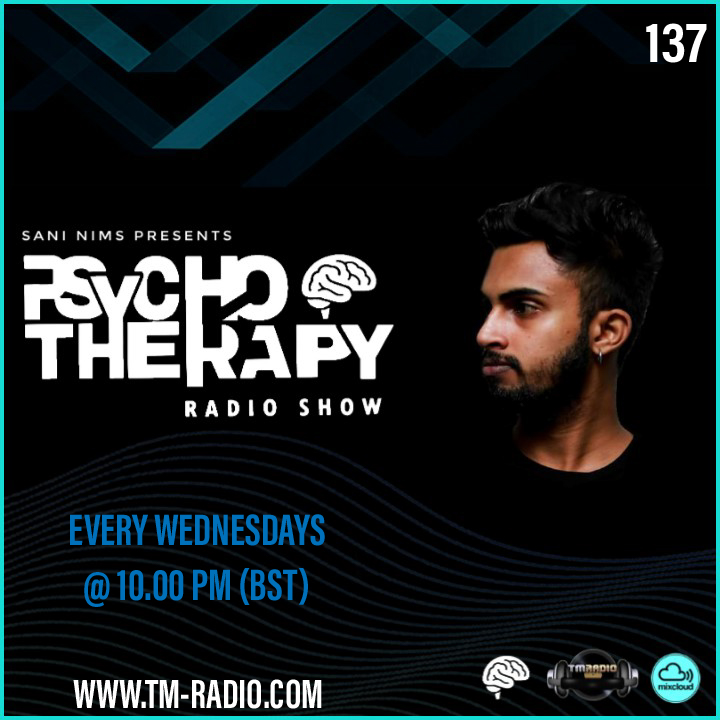 Psycho Therapy :: PSYCHO THERAPY EP 137 BY SANI NIMS ON TM RADIO (aired on May 12th) banner logo