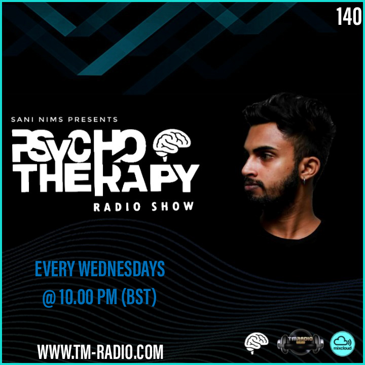 Psycho Therapy :: PSYCHO THERAPY EP 140 BY SANI NIMS ON TM RADIO (aired on June 2nd) banner logo