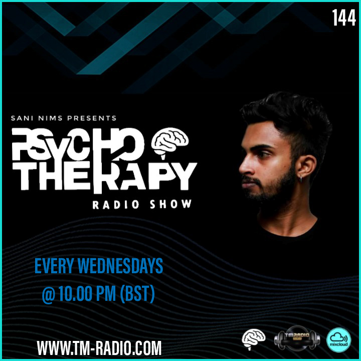 Psycho Therapy :: PSYCHO THERAPY EP 144 BY SANI NIMS ON TM RADIO (aired on July 7th) banner logo